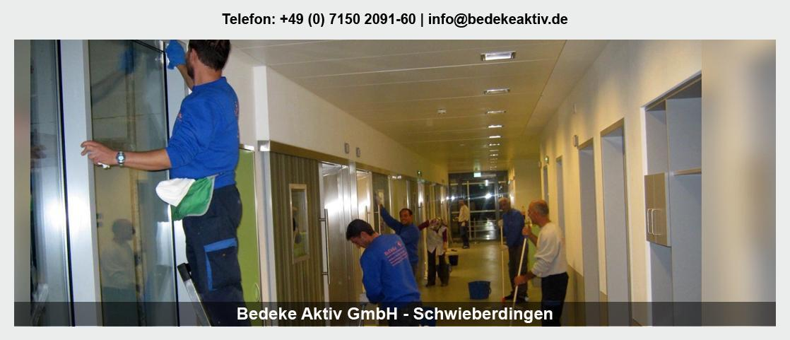 Grundreinigung Massenbachhausen - Bedeke Aktiv GmbH: Dachreinigung, Unterhaltsreinigung, Hausmeisterservice,