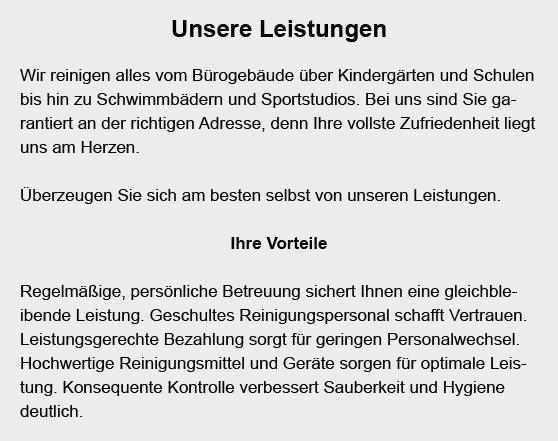 Reinigungspersonal für  Jettingen